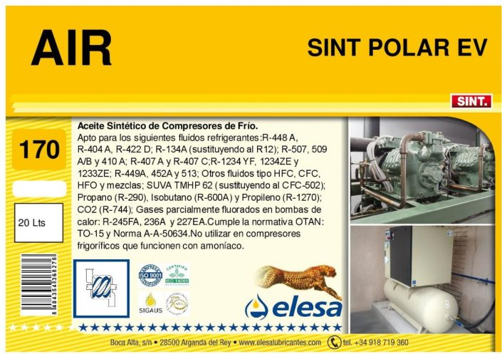AIR SINT 170 POLAR EV