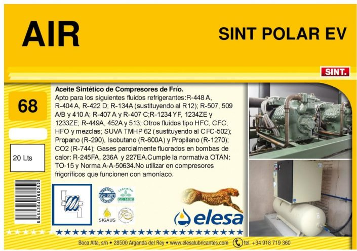 AIR SINT 68 POLAR EV