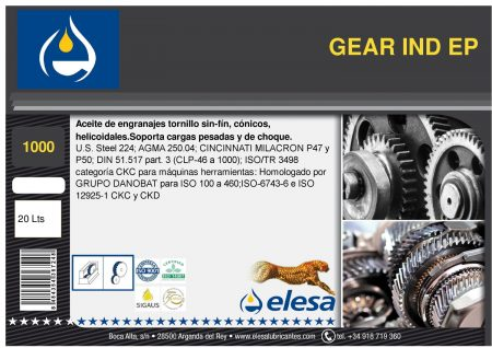 GEAR IND 1000 EP