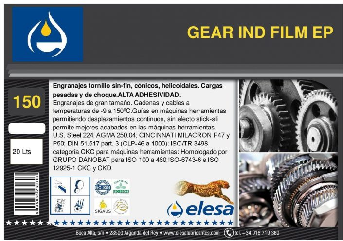 GEAR IND 150 FILM EP