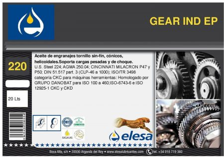 GEAR IND 220 EP