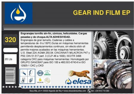 GEAR IND 320 FILM EP