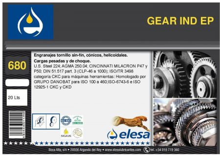 GEAR IND 680 EP