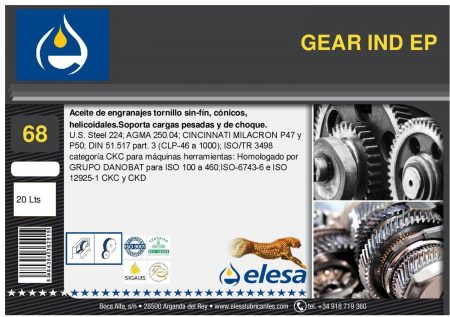 GEAR IND 68 EP