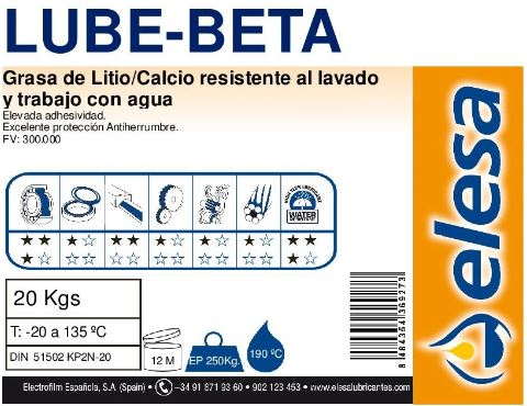 Elesa LUBE BETA