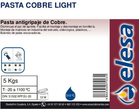 ELESA PASTA COBRE LIGHT